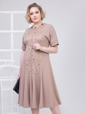 Сукня кольору мокко | 5349533