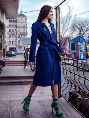 Пальто синее | 5349720