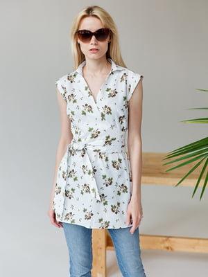 Блуза с принтом | 5349755