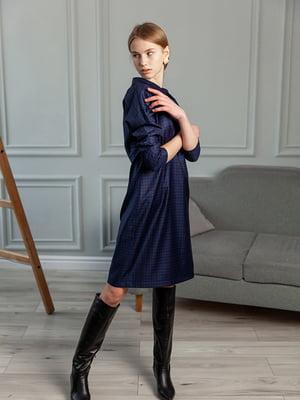 Сукня темно-синього кольору | 5349813