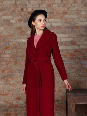 Пальто насиченого червоного кольору   5349826