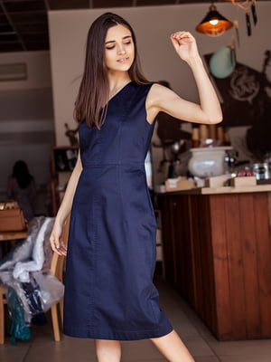 Сукня темно-синього кольору   5349831