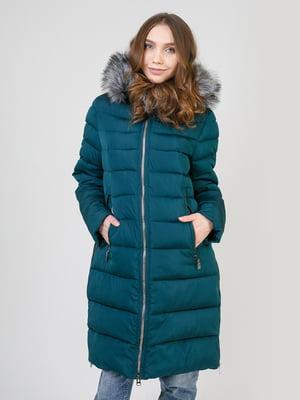Пальто зелене | 5327035