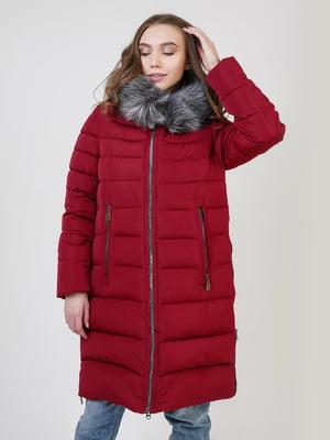 Пальто бордове | 5327038