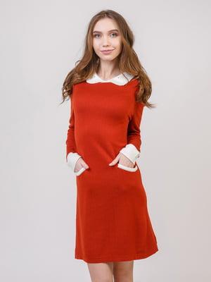 Сукня терракотового цвета | 5346539