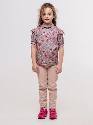 Блуза кавового кольору | 5350061