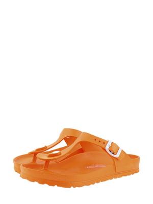 Шлепанцы оранжевые | 5347377