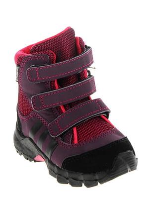 Ботинки фиолетово-малинового цвета | 5347418