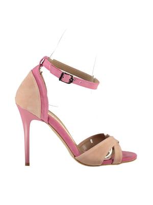 Босоножки розово-персикового цвета | 5347419