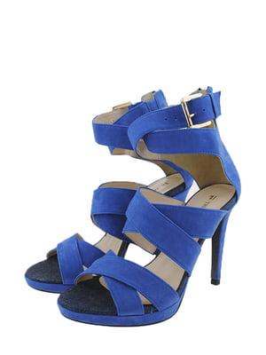 Босоножки синие | 5350081
