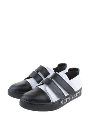 Кеды бело-черные   5350096