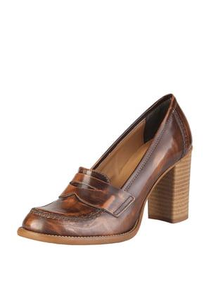 Туфли коричневые   5350129