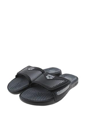 Шлепанцы черно-серые | 5350144