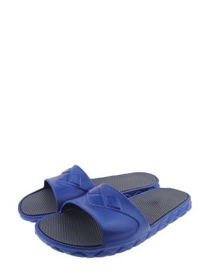 Шльопанці синьо-сірі   5350145