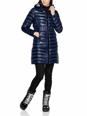 Пальто синее | 5337625