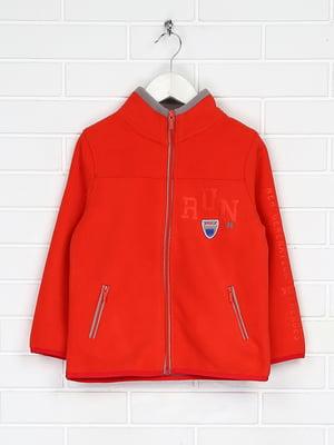 Куртка коралова флісова | 5202839