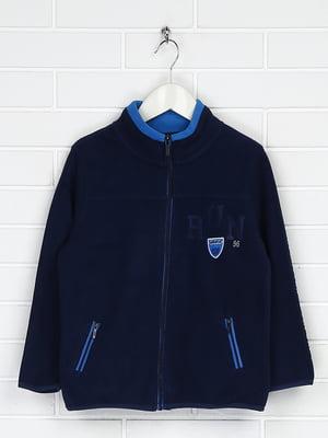 Куртка темно-синя флісова | 5202840