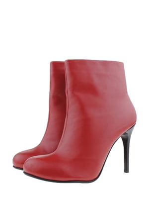 Ботинки красные | 5350327