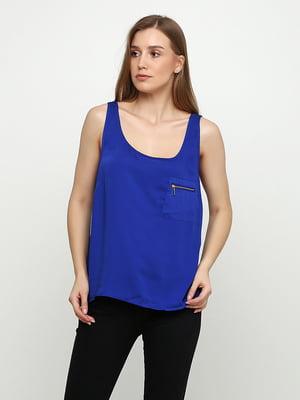 Блуза синяя   5350446