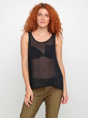Блуза черная   5350449