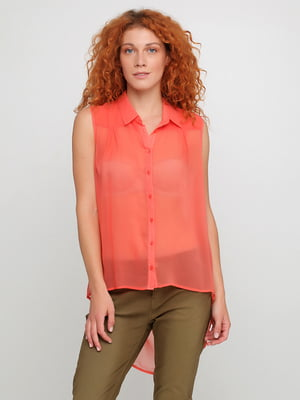 Блуза коралова | 5350451