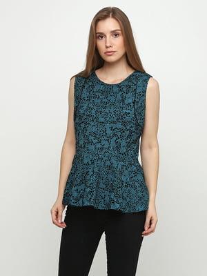 Блуза бирюзовая | 5350455