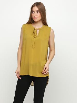 Блуза оливкового кольору | 5350468