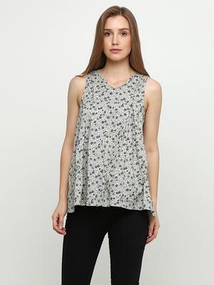Блуза з принтом | 5350472
