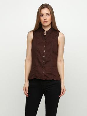 Блуза коричнева | 5350478