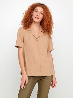 Рубашка коричневая | 5350480
