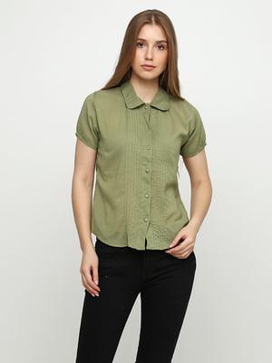 Блуза оливкового цвета | 5350487