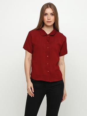 Блуза бордовая | 5350488