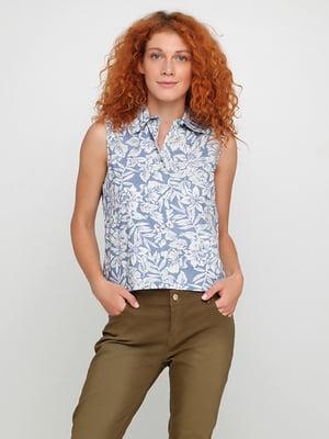 Блуза голубая | 5350489