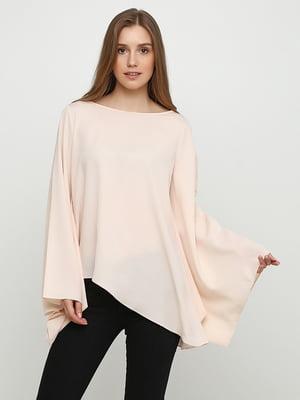 Блуза кольору пудри | 5350490