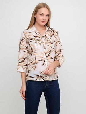 Блуза з принтом | 5350492