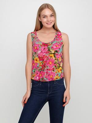 Блуза з принтом   5350498