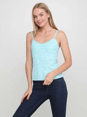 Блуза голубая | 5350506