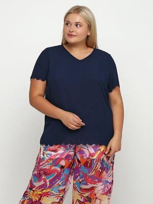 Блуза синя | 5350513