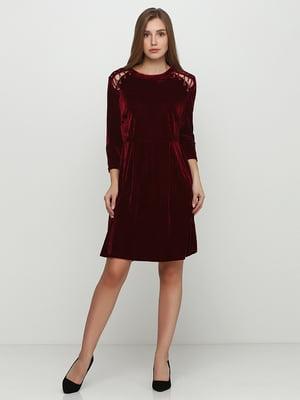 Сукня бордова | 5350525