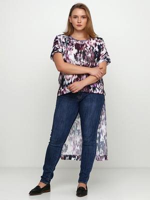 Блуза з принтом | 5350547
