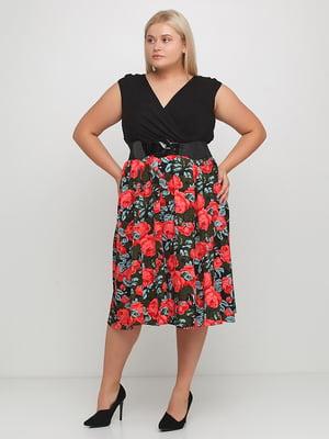 Платье с принтом | 5350559