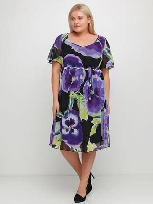 Платье с принтом | 5350561