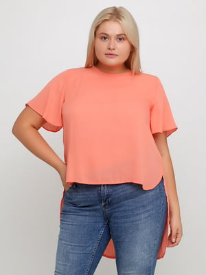 Блуза персикового кольору | 5350578