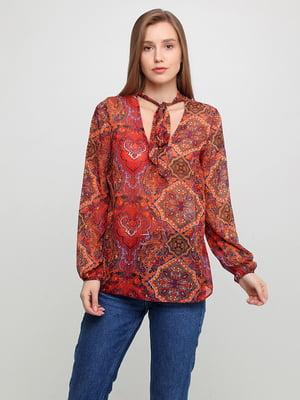 Блуза с принтом | 5350596
