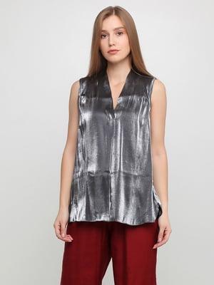 Блуза сіра | 5350600