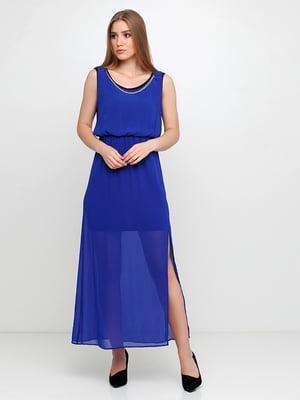 Платье синее | 5350609