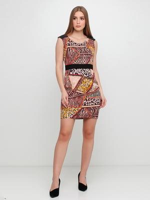 Платье с принтом | 5350611