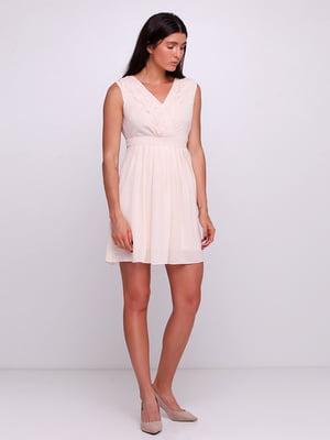 Платье бежевое | 5350639
