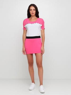 Платье розовое | 5350648