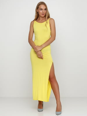 Платье желтое | 5350671